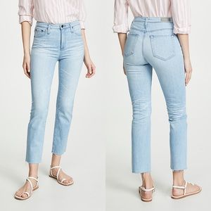 • AG • Isabelle High Rise Straight Crop Jeans 26Yr